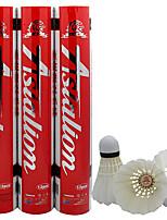 12pcs Badminton volantes de penas Á Prova-de-Água Durabilidade Estabilidade paraInterior Ao ar Livre Espetáculo Praticar Esportes de