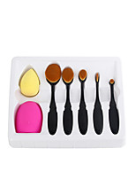 5pcs Makeup Brush Set Blush Brush Eyeshadow Brush Eyeliner Brush Concealer Brush Foundation Brush Synthetic Hair Full Coverage ResinFace Eye
