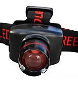 Lanternas de Cabeça LED Lumens Modo AAA Tamanho Compacto Fácil de Transportar Campismo / Escursão / Espeleologismo Uso Diário Exterior ABS