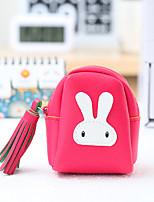 Cartoon Rabbit Pattern Change Purses PU Leather 1 PCS