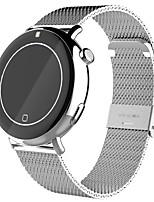 Chronomètre de fréquence cardiaque montre intelligente c7 imperméable à l'eau bracelet sport podomètre smartwatch pour ios smartphone