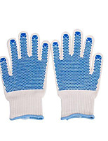 Tool Section Honeywell ABRATEX GRIP Single Point Plastic High Strength Nylon Two Grade Anti Cutting Gloves 08 /1 Double / Vice