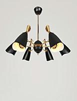 Montagem do Fluxo ,  Contemprâneo Tradicional/Clássico Galvanizar Característica for LED Estilo Mini MetalSala de Estar Quarto Sala de