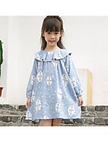 Girl's Casual/Daily School Polka Dot Dress