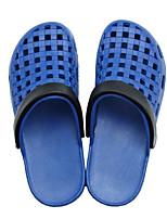 Women's Sandals Comfort PU Spring Casual Black Blue Blushing Pink Flat