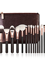 18pcs Contour Brush Makeup Brush Set Blush Brush Eyeshadow Brush Brow Brush Eyeliner Brush Concealer Brush Fan Brush Powder Brush Foundation