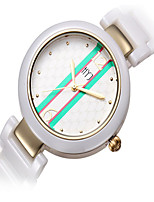 HYJ Garden Street Fashion White Ceramic Watches Women's Bracelets Genuine Waterproof Quartz Watch Fashion Watch 255