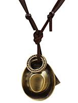 Homme Collier court /Ras-du-cou Pendentif de collier Forme de Cercle Forme de Croix Forme GéométriqueOriginal Mode Croix Inspiration