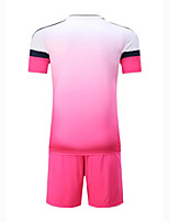 Unisex Soccer Tops Breathable Wearable Comfortable Spring Summer Fall/Autumn Solid Football/Soccer Orange Green Blue Blushing Pink