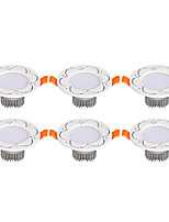 6Pcs Yangming3W 30006000K Warm White Cool White LED Canister Light (85-265V)  012
