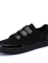 -Для мужчин-Для офиса Повседневный Для занятий спортом-Дерматин-На плоской подошве-Удобная обувь-Кеды