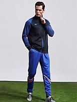 MTIGER SPORTS® Men's Soccer Tracksuit Breathable Comfortable Spring Fall/Autumn Winter Sports Terylene Football/Soccer