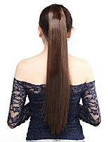 Neitsi 1Pcs 115g Wrap Around Ponytail Hair Extensions Striaght Synthetic Hairpieces M2/30#