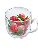 401-500ml Glass Transparent Fruit Juice Tea Cup