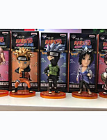 Anime Action Figures Inspired by Naruto Naruto Uzumaki PVC 5 CM Model Toys Doll Toy 1set