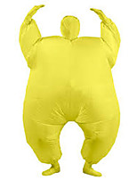 Costume Inflatable Full Body Suit Inflatable Costume Teen Chub Suit Full Body Jumpsuit Costume Masked Man Adult Large Yellow Color