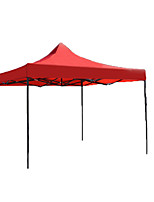 Shelter & Tarp Single Fold Tent One Room Camping Tent Iron Waterproof-Camping-Red