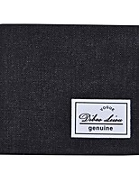 Men PU Canvas Polyester Formal Casual Shopping Wallet All Seasons