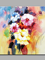 Hand-Painted Modern The Flowers One Panel Canvas Oil Painting For Home Decoration Ready To Hang