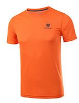 Плюс размер 4xl мужская мода хлопок футболки с коротким рукавом быстро сухие круглые рубашки шеи