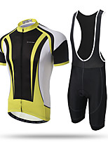 XINTOWN Camisa com Bermuda Bretelle Homens Manga Curta Moto Tights Bib Camisa/Roupas Para Esporte BlusasSecagem Rápida Resistente Raios