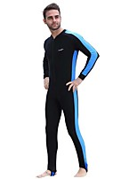 Men's Full Wetsuit Breathable Quick Dry Anatomic Design Compression Chinlon Diving Suit Long Sleeve Diving Suits-Diving Spring Summer