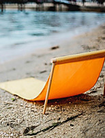 Portable Wooden Beach Chair Casual Loungers Solid Woods Sexual Beach Chairs Seaside Loungers Solid Wood