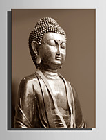 E-HOME Stretched Canvas Art Meditation Buddha Decoration Painting One Pcs
