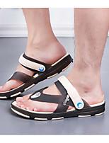 Chinelos de homem&Flip-flops primavera conforto luz solas borracha casual