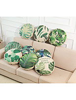 Set of 9 Novelty Beach Style Tropical Plant Pattern Linen Pillowcase Sofa Home Decor Cushion Cover