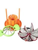 3 Pças. Cortador e Fatiador For Para utensílios de cozinha Plástico Aço Inoxidável Alta qualidade Gadget de Cozinha Criativa