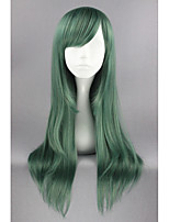 Kagerou Project-Kido Tsubomi Green Anime 26inch Cosplay Wig CS-167F