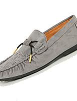 -Для мужчин-Повседневный-Тюль-На плоской подошве-Удобная обувь-Мокасины и Свитер