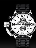 SKONE Муж. Спортивные часы Модные часы Китайский Кварцевый силиконовый Группа Черный