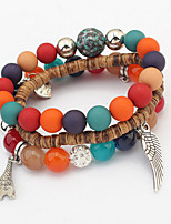 The European And American Fashion Exquisite Joker Beaded Bracelet