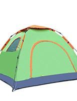 2 человека Световой тент Один экземляр Однокомнатная ПалаткаПоходы Путешествия-зеленый