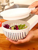 60 Second Fresh Salad Maker Cutter Bowl Slicer Vegetable Easy Washer Chopper
