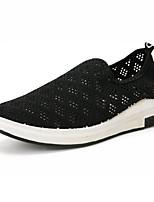 Men's Loafers & Slip-Ons Spring Summer Comfort Light Soles Tulle Outdoor Casual Flat Heel Blue Gray Black
