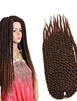 Havanna Box Zöpfe Gehäkelt Cubic Twist Twist Braids Haarverlängerungen Kanekalon Haar Borten