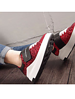 Women's Sneakers Spring Comfort PU Leather Casual Green Red Army Green Black White