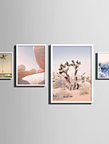 E-HOME® Framed Canvas Art   Simple Natural Scenery And Plant Series (5) Theme Series Framed Canvas Print One Pcs