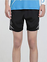 Men's Running Spring Summer Fall/Autumn Cotton Slim Leisure Sports Black