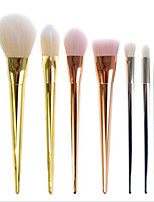 7Pcs Makeup Cosmetic Brushes Set Powder Foundation Eyeshadow Lip Brush Tool