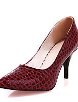 Mujer-Tacón Stiletto-Zapatos formales-Tacones-Oficina y Trabajo Vestido Fiesta y Noche-Semicuero-