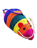 Cat Toy Pet Toys Mouse Toy Scratch Pad Sisal