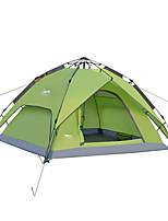 3-4 personnes Tente Double Tente automatique Une pièce Tente de camping 2000-3000 mm Oxford Etanche-Camping
