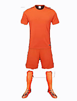 Unisex Soccer Tops Breathable Wearable Comfortable Spring Summer Fall/Autumn Solid Football/Soccer Orange Red Green Light Green