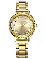 Mulheres Relógio Elegante Relógio de Moda Chinês Quartzo Aço Inoxidável Banda Pendente Casual Prata Dourada Ouro Rose