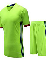 Unisex Soccer Jersey + Bib Shorts Breathable Spring Summer Winter Fall/Autumn Classic Polyester Football/Soccer