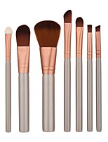 1set Eyeshadow Brush Brow Brush Foundation Brush Nylon Portable Travel Eco-friendly Professional Full Coverage AluminumMen Face Women Men